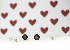 Mini čipkovance ♥ (Hnedá)