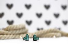Náušnice - mini ♥ - 10395522_