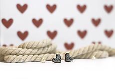 Náušnice - mini ♥ - 10395535_