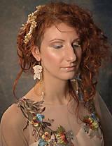 """Ozdoby do vlasov - Kvetinový svadobný set """"to, čo mám na srdci"""" - 10395748_"""