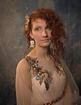 """Ozdoby do vlasov - Kvetinový svadobný set """"to, čo mám na srdci"""" - 10395749_"""