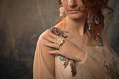 """Ozdoby do vlasov - Kvetinový svadobný set """"to, čo mám na srdci"""" - 10395753_"""