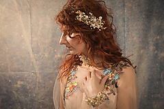 """Ozdoby do vlasov - Kvetinový set """"nádej na lásku"""" - 10395961_"""