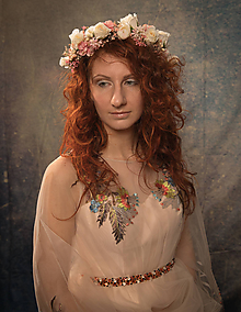 """Ozdoby do vlasov - Kvetinový set """"neprestaň snívať"""" - 10395807_"""