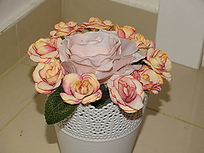 Dekorácie - Kvetinový box - 10395611_