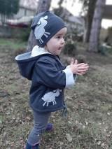 Detské oblečenie - Ovečka Júlia (bunda + čiapka) - 10395134_