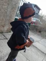 Detské oblečenie - Ježo Albert (bunda + čiapka) - 10395207_