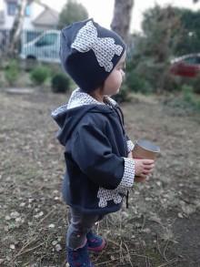 Detské oblečenie - Maco Karol (bunda + čiapka) - 10395262_