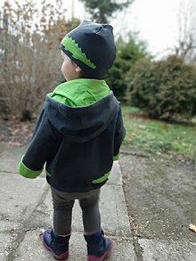 Detské oblečenie - Kroko Alfonz (bunda + čiapka) - 10395519_