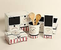 Nábytok - Veľký set do kuchyne - 5ks  - 10395451_