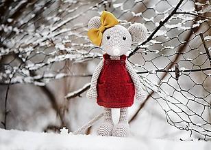 Hračky - Myška Júlia - 10393406_