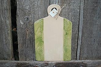 Pomôcky - Lopárik keramický zelený - 10395552_