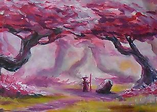 Obrazy - • Pútnik • /maľba akrylom/ - 10394204_