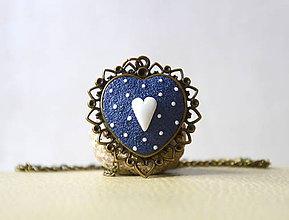 Náhrdelníky - Folk náhrdelník Dorotka - 10400779_