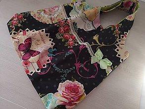 Nákupné tašky - Kuchynská zástera + nákupná taška - 10397689_