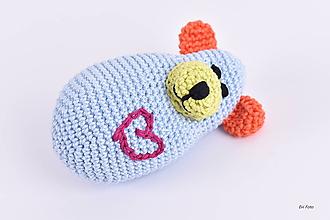 Hračky - BABY macík s pískatkom - 10398982_