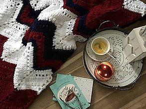 Úžitkový textil - Deka Folklórna - 10398068_