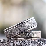Prstene - Prachom zdobené  /svadobné obrúčky/ - 10399265_