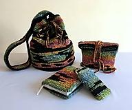 Iné tašky - Batoh na plece a drobnosti - na objednávku - 10399794_