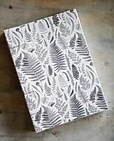 Papiernictvo - Zápisník Botanika - ručne šitý - 10400565_