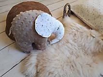 Hračky - Mojkáčik - prítulnáčik : sloník - 10400502_