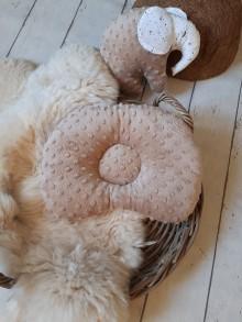 Textil - Anatomický vankúšik : minky/bavlna - 10400411_