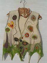 Iné oblečenie - Plstená vesta - 10398751_