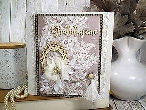 Papiernictvo - Svadobná pohľadnica - 10399486_