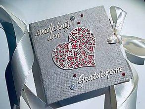 Papiernictvo - Gratulačná karta / Obálka na peniaze - 10401127_