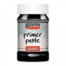 Farby-laky - Podkladová pasta gesso - PRIMER čierna 100 ml - 10399038_