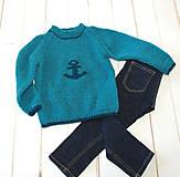 Detské oblečenie - Pre námorníka - 10400325_