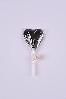 Potraviny - Lízatko srdce (Čierna) - 10397646_