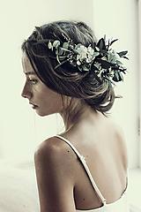Ozdoby do vlasov - Veniec Eukalyptus - 10401455_