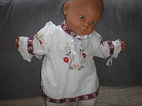 Detské oblečenie - Košieľka pre dievčatko - 10401626_
