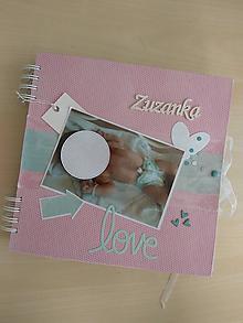 Papiernictvo - Album pre dievčatko /Zuzanku - 10400080_