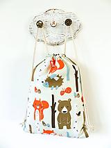 Detské tašky - ruksačik V brezovom háji, 3-6 r. - 10398341_