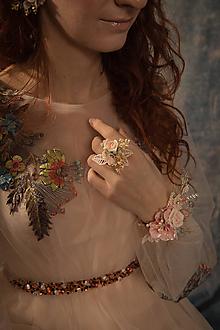"""Prstene - Kvetinový prstienok """"v objatí nežných slov"""" - 10398644_"""