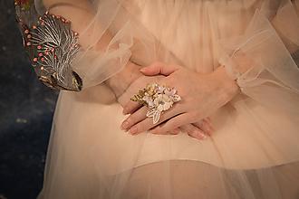 """Prstene - Kvetinový prstienok """"pri svitaní"""" - 10398723_"""