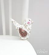 Dekorácie - Vtáčik - 10401495_