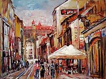 Obrazy - Obchodná ulica v Bratislave II. - 10399916_