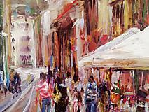 Obrazy - Obchodná ulica v Bratislave II. - 10399922_