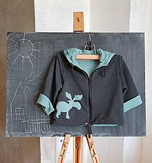 Detské oblečenie - Los Milan (bunda+čiapka) - 10399665_
