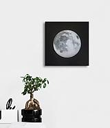 """Obrazy - Obraz """"Strieborný mesiac"""" - 10400994_"""