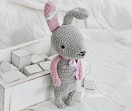 Hračky - Zajačik Simonka / 30 cm - 10398048_