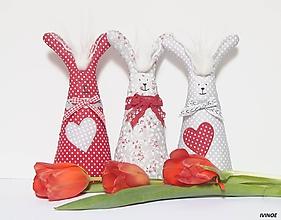 Dekorácie - Jarní zajkovia - 10398887_
