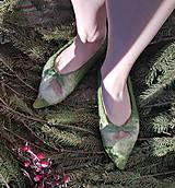 - Vlnené plstené balerínky - 10399437_