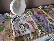 Úžitkový textil - Velkonočný stredový obrus (Jarný Vintage štýl) - 10402952_