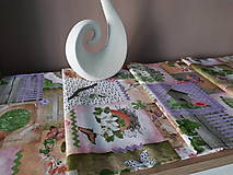 Úžitkový textil - Velkonočný stredový obrus (Jarný Vintage štýl) - 10402953_
