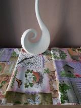 Úžitkový textil - Velkonočný stredový obrus (Jarný Vintage štýl) - 10402954_