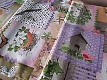 Úžitkový textil - Velkonočný stredový obrus (Jarný Vintage štýl) - 10402959_